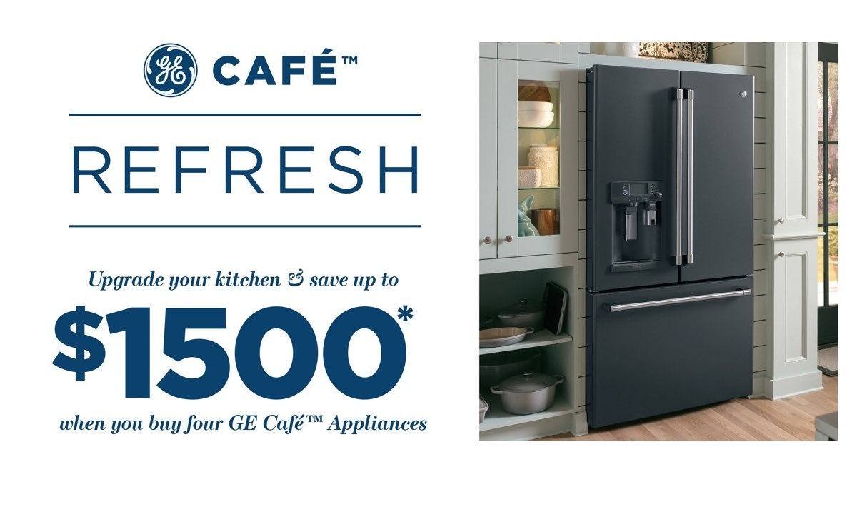GE Cafe Refresh