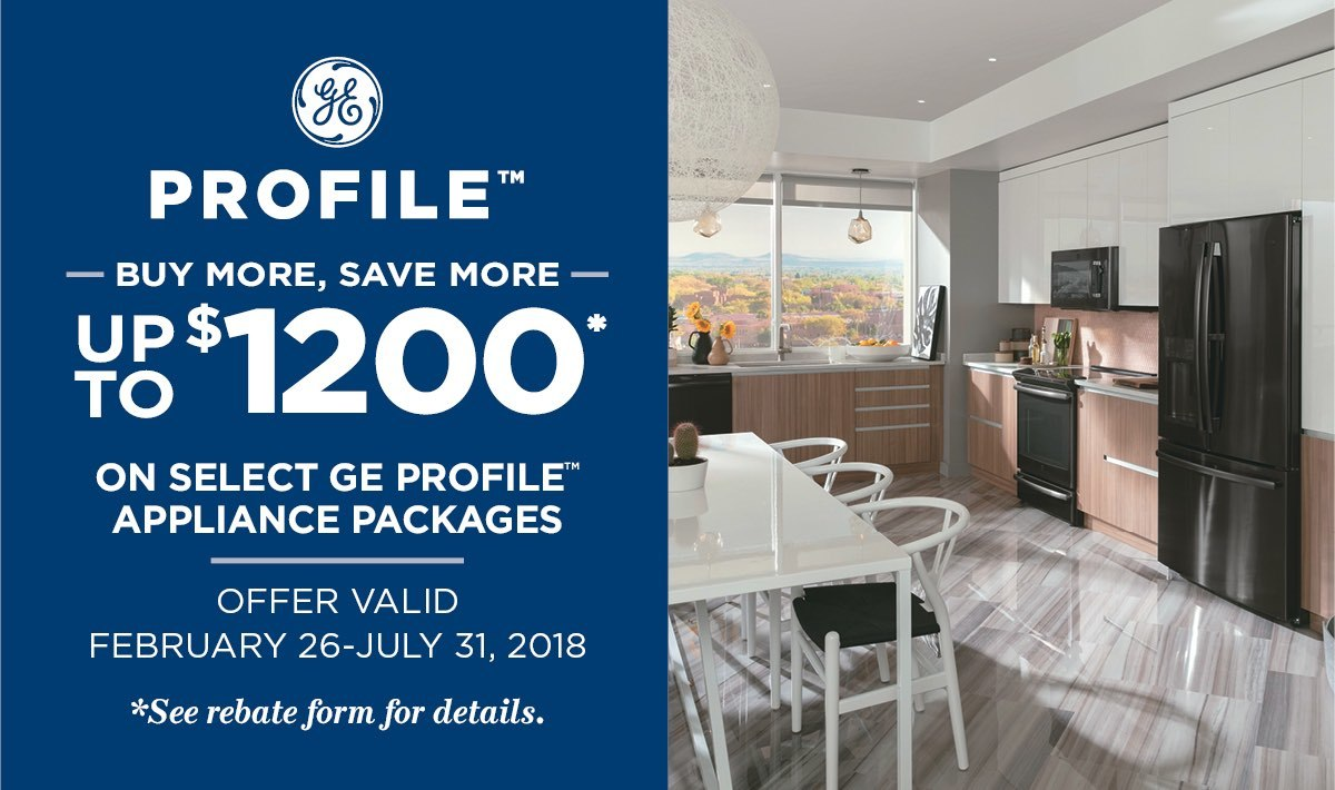 GE Profile Buy More Save More