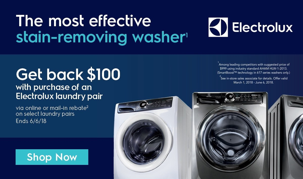 Electrolux Laundry Pair