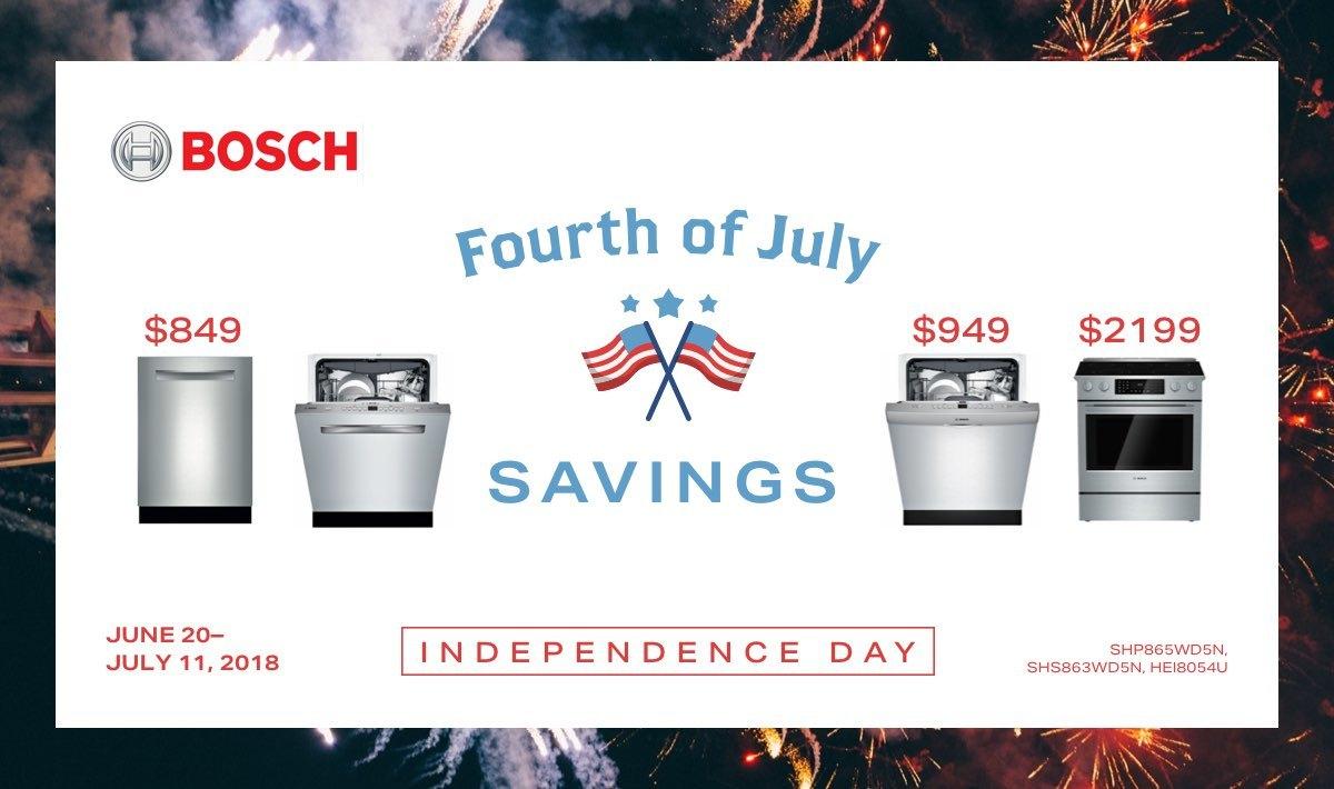 Bosch 4th of July