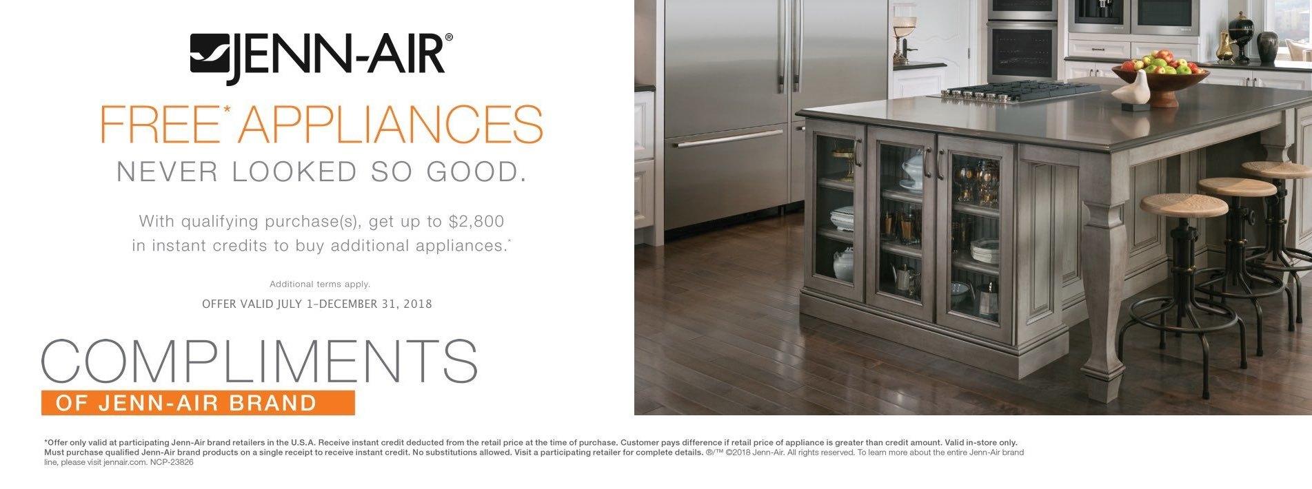 Jenn-Air Free Appliances