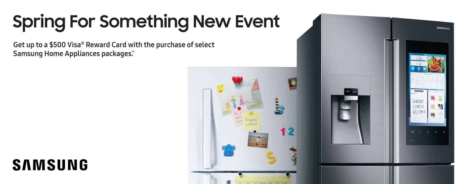 Samsung Spring for Something New