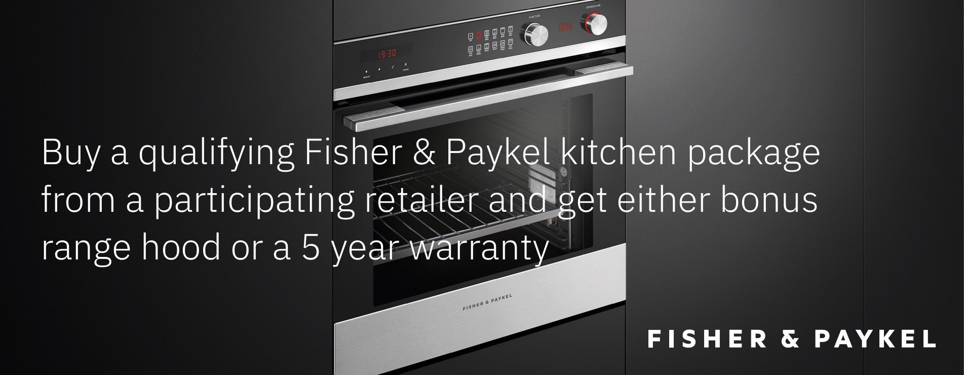 Fisher & Paykel Promo