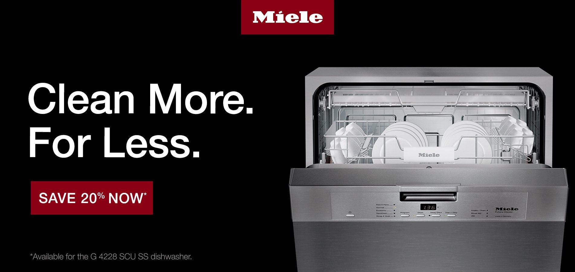 Miele Clean More For Less
