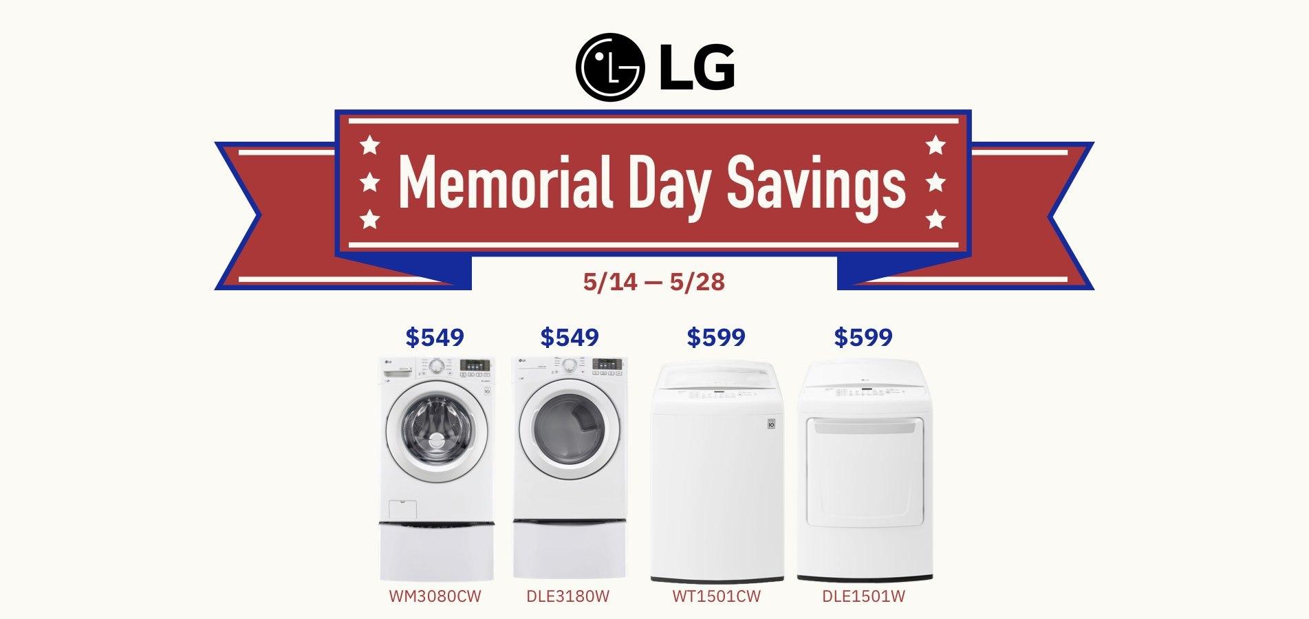 LG Memorial Day