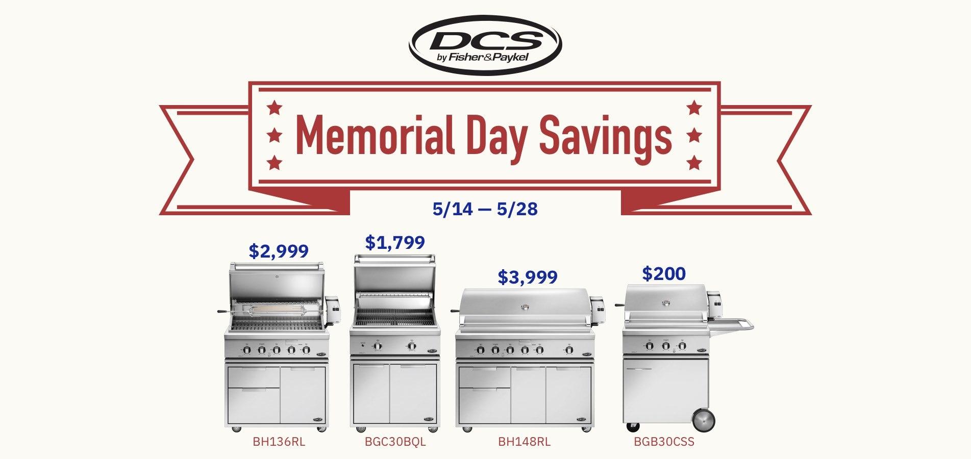 DCS Memorial Day