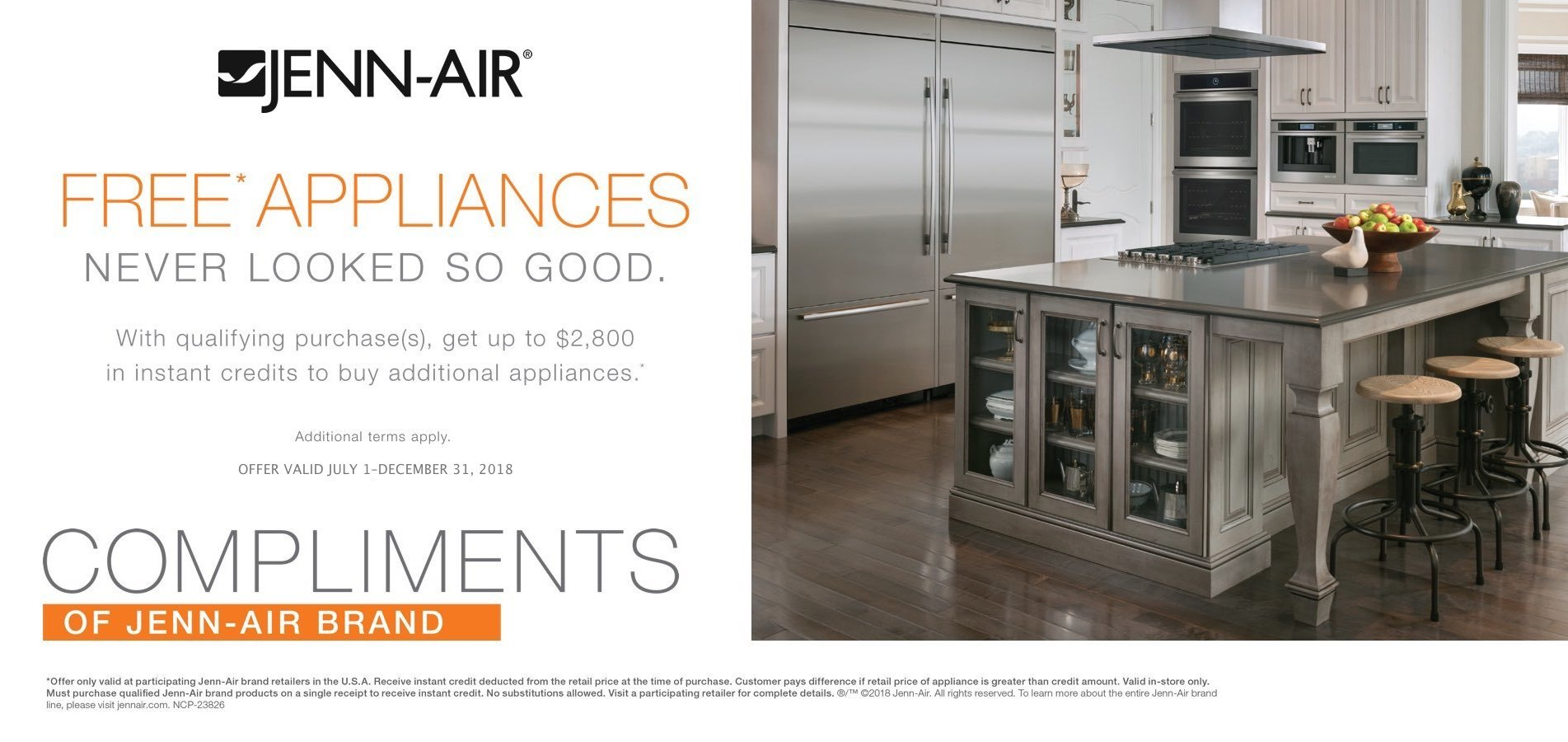 Jenn-Air Free Appliances