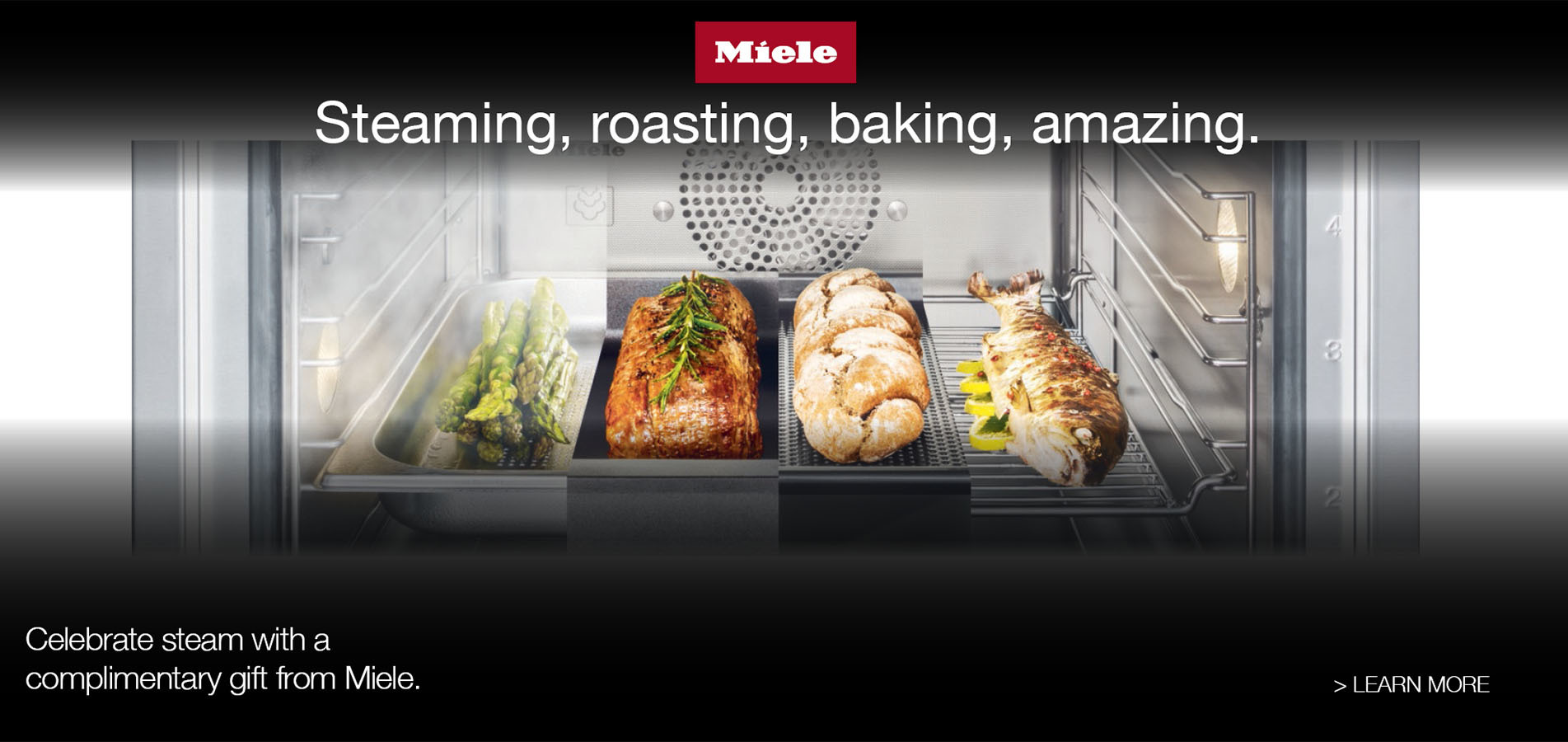 The Miele Combi-Steam Oven