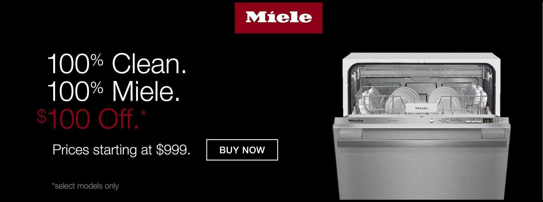 Miele September Dishwasher Promo