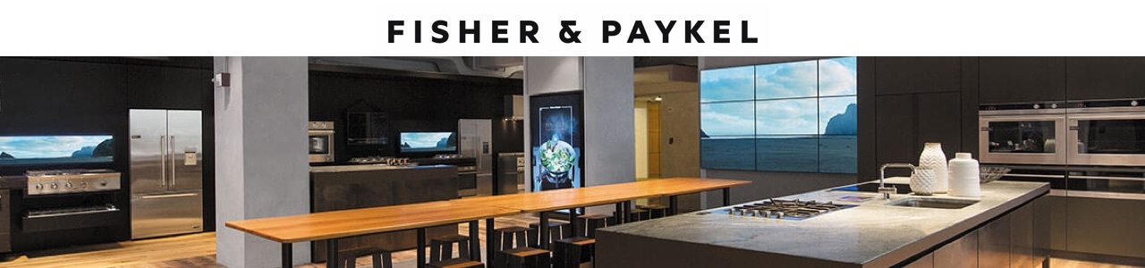 Fisher and Paykel Landing Page