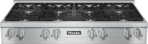 "Miele 48"" RangeTop with 8 Burners -  Natural Gas       KMR 1354-1 G"