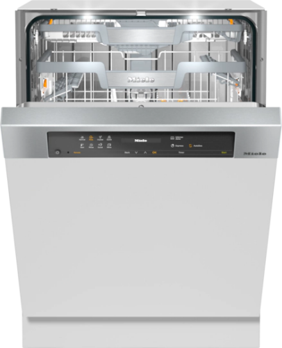 "Miele 24"" Wide Semi-integrated Dishwasher        G 7516 SCi XXL AutoDos"