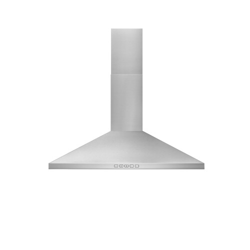 Broan 24-Inch Convertible Wall-Mount Pyramidal Chimney Hood