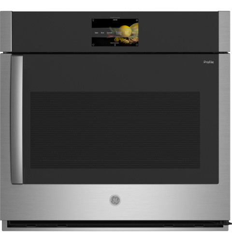 """GE Profile GE Profile™ 30"""" Smart Built-In Convection Single Wall Oven with Right-Hand Side-Swing Doors"""