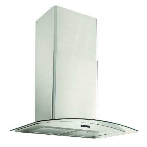 Broan Broan 36-Inch Convertible Curved Glass Wall-Mount Chimney Range Hood