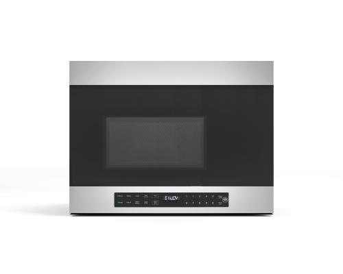 "Bertazzoni Over the range 24"" microwave oven and hood."