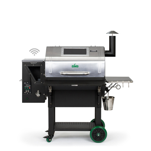 Green Mountain Grills LEDGE – SS PRIME PLUS WIFI – BLACK