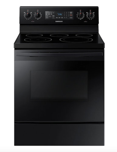 Samsung 5.9 cu. ft. Freestanding Electric Range with Convection in Black