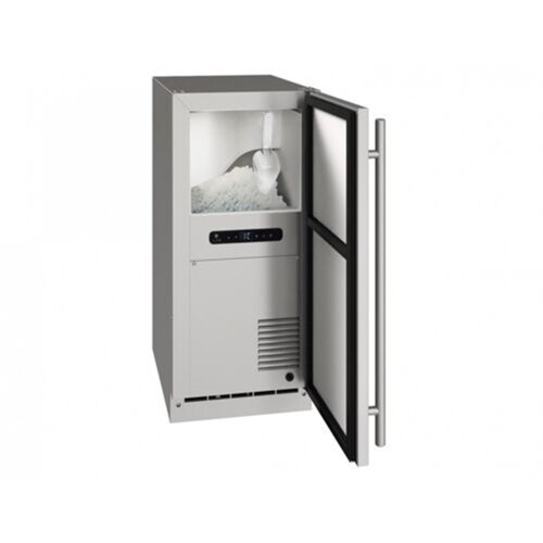 "Model: UHNB315-SS01A | U-Line 15"" Ice Maker - Gravity Drain"