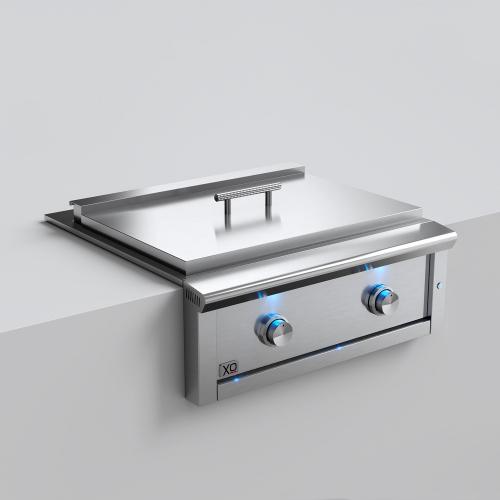 """Model: XOGRIDDLE30L   XO Appliances 30 """"  Griddle - LP Gas"""