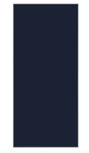 Samsung BESPOKE 4-Door Flex™ Refrigerator Panel in Navy Glass - Bottom Panel