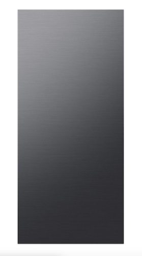 Samsung BESPOKE 4-Door Flex™ Refrigerator Panel in Matte Black Steel - Bottom Panel