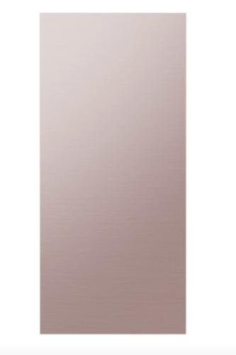 Samsung BESPOKE 4-Door Flex™ Refrigerator Panel in Champagne Rose Steel - Bottom Panel