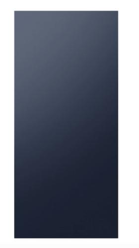 Samsung BESPOKE 4-Door Flex™ Refrigerator Panel in Navy Steel - Bottom Panel