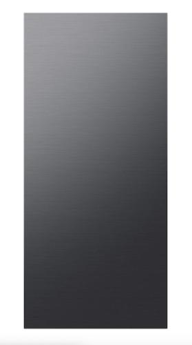 Samsung BESPOKE 4-Door Flex™ Refrigerator Panel in Matte Black Steel - Top Panel