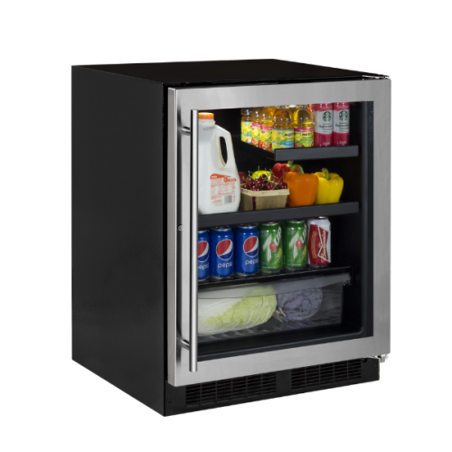 Marvel  24-IN LOW PROFILE BUILT-IN BEVERAGE CENTER WITH CONVERTIBLE SHELF AND MAXSTORE BIN