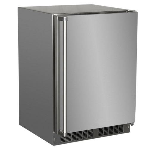 Marvel  24-IN OUTDOOR BUILT-IN REFRIGERATOR FREEZER (ICE MAKER ACCESSORY KIT AVAILABLE)