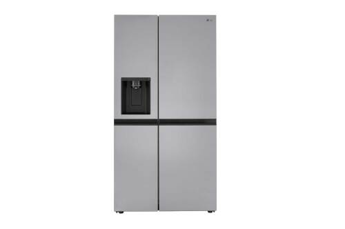 LG 27 cu. ft. Side-by-Side Refrigerator with Smooth Touch Ice Dispenser