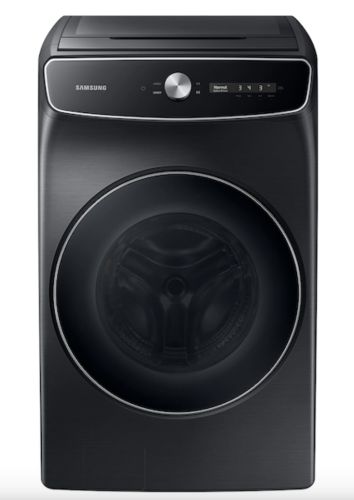 Samsung 6.0 cu. ft. Total Capacity Smart Dial Washer with FlexWash™ and Super Speed Wash in Brushed Black
