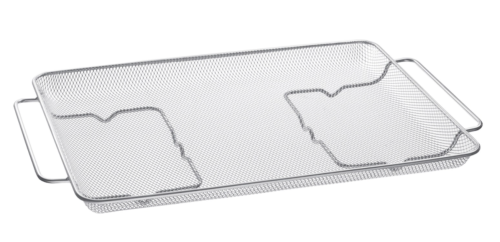 """Samsung Stainless Steel Air Fry Tray Accessory for 30"""" Ranges"""