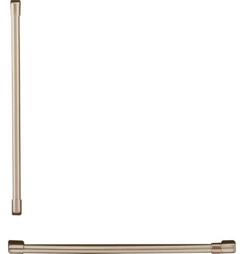 Cafe Café™ Refrigeration Handle Kit - Brushed Bronze