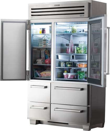 Model: 648PROG | Sub-Zero PRO 48 with Glass Door - Legacy Model