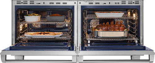 "Model: DF606DG-LP | Wolf 60"" Dual Fuel Range - 6 Burners and Infrared Dual Griddle"
