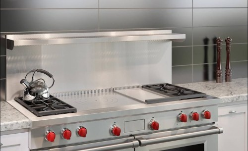 "Model: DF604GF-LP | Wolf 60"" Dual Fuel Range - 4 Burners, Infrared Griddle and French Top"