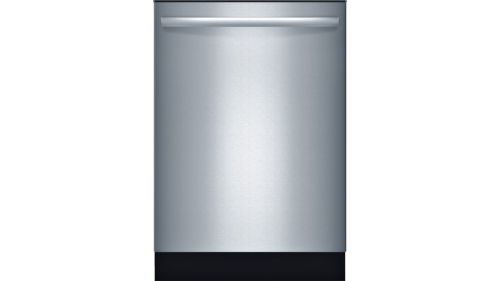 "Bosch Ascenta®24"" Bar Handle Dishwasher SHX3AR75UC - Stainless steel"