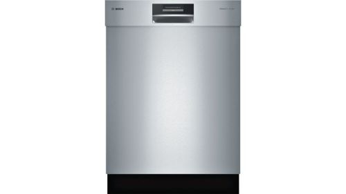 """Bosch 24"""" Recessed Handle Dishwasher SHE8PT55UC"""