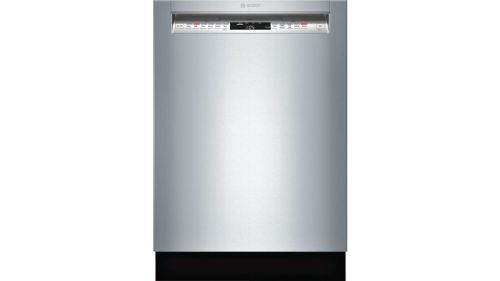 "Model: SHE7PT55UC | Bosch 24"" Recessed Handle DishwasherBenchmark Series- Stainless steel"