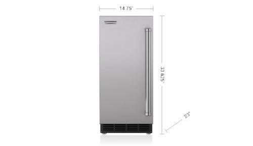 "Model: UC-15I | Sub-Zero 15"" Ice Maker - Panel Ready"