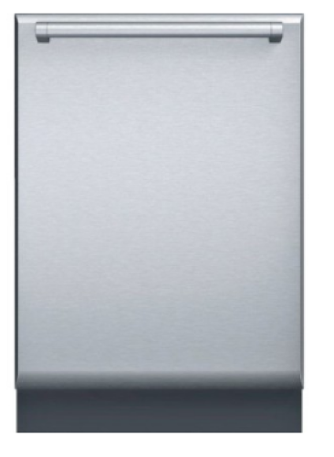 "Thermador  24"" Stainless Steel Chiseled Door with Pro Handle Dishwasher Accessory"
