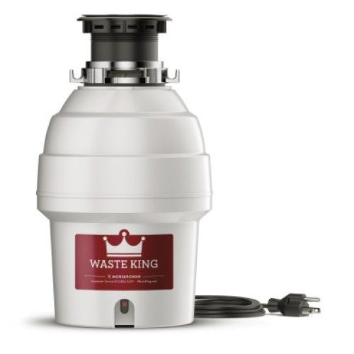 Waste King Legend 3300 EZ Mount Garbage Disposer 3/4 HP