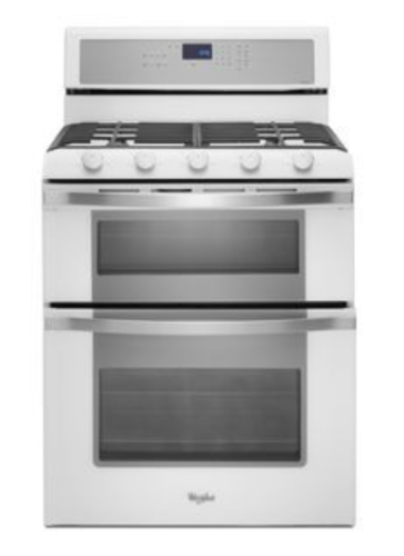 Model: WGG755S0BH | Whirlpool Whirlpool 6.0 Total cu. ft. Double Oven Gas Range with Convection Cooking
