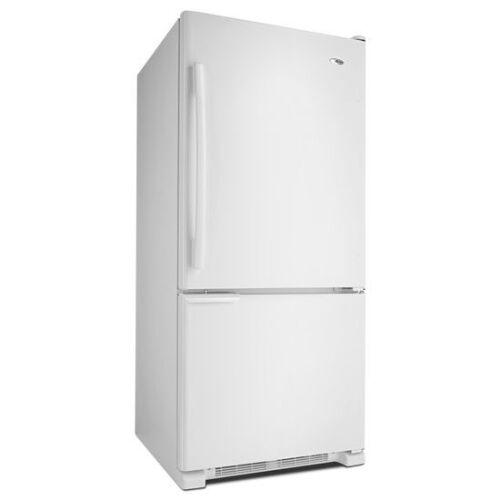 Model: ABB1921BRW | Amana 29-inch Wide Bottom-Freezer Refrigerator with Garden Fresh™ Crisper Bins -- 18 cu. ft. Capacity