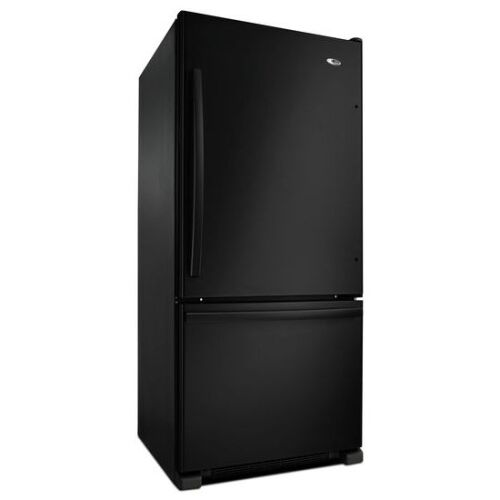 Model: ABB1924BRB | Amana 29-inch Wide Bottom-Freezer Refrigerator with EasyFreezer™ Pull-Out Drawer -- 18 cu. ft. Capacity