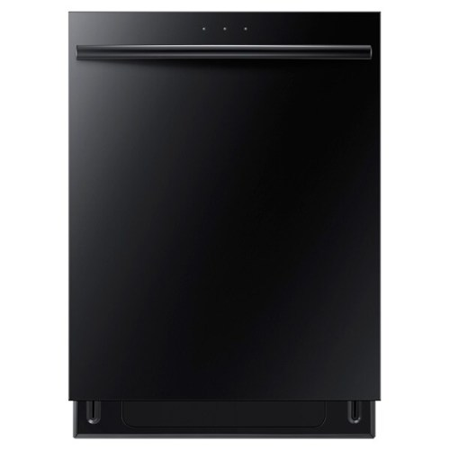 DW80F600 Top Control Dishwasher with Stainless Steel Tub  (Black)