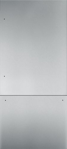 "Thermador 36"" Stainless Steel Panel Set for Bottom-Freezer - Flat"