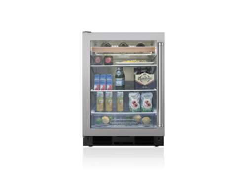 "Sub-Zero 24"" Undercounter Beverage Center - Stainless Door"
